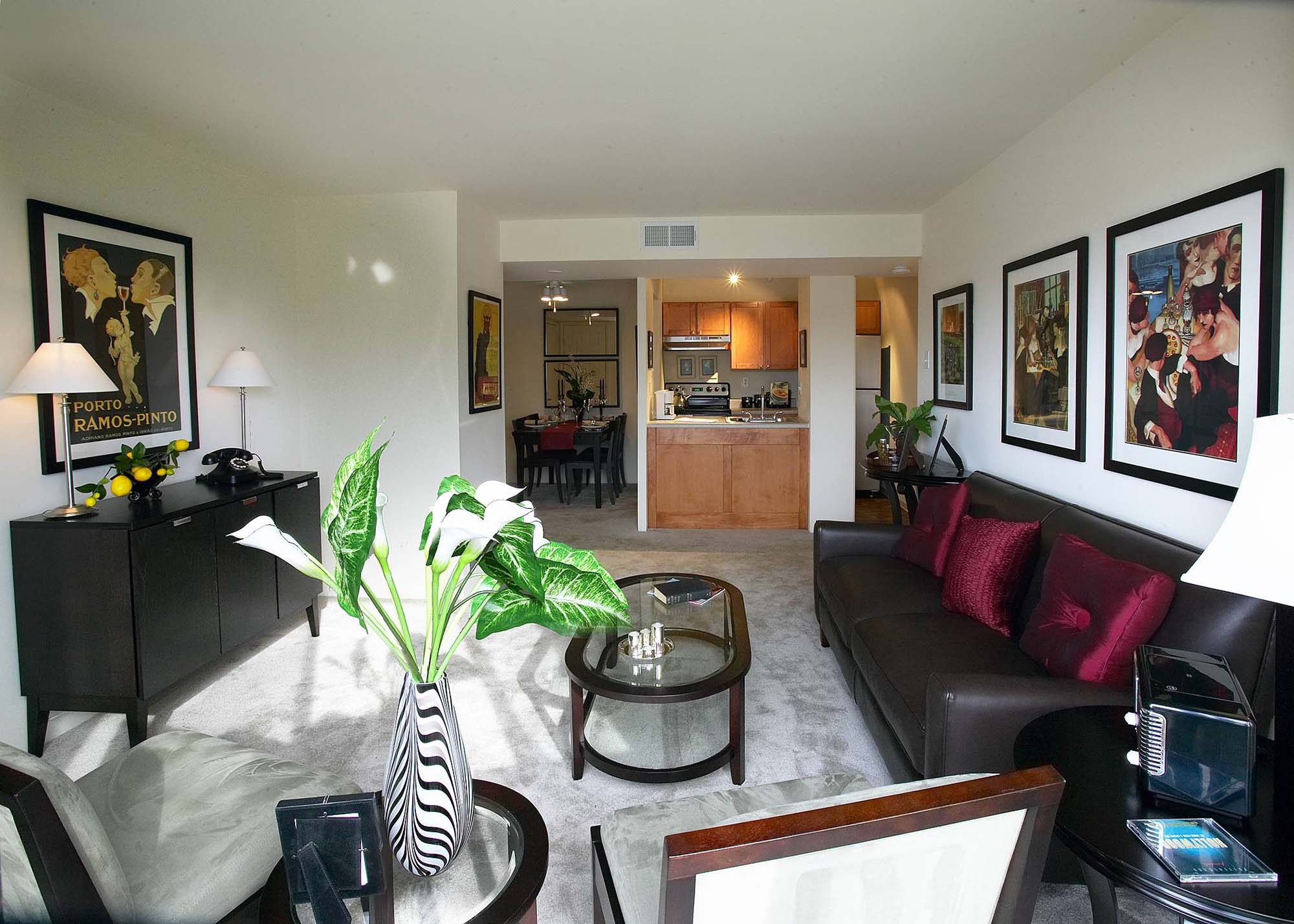 Pavilion-1 bedroom livingroom- pic