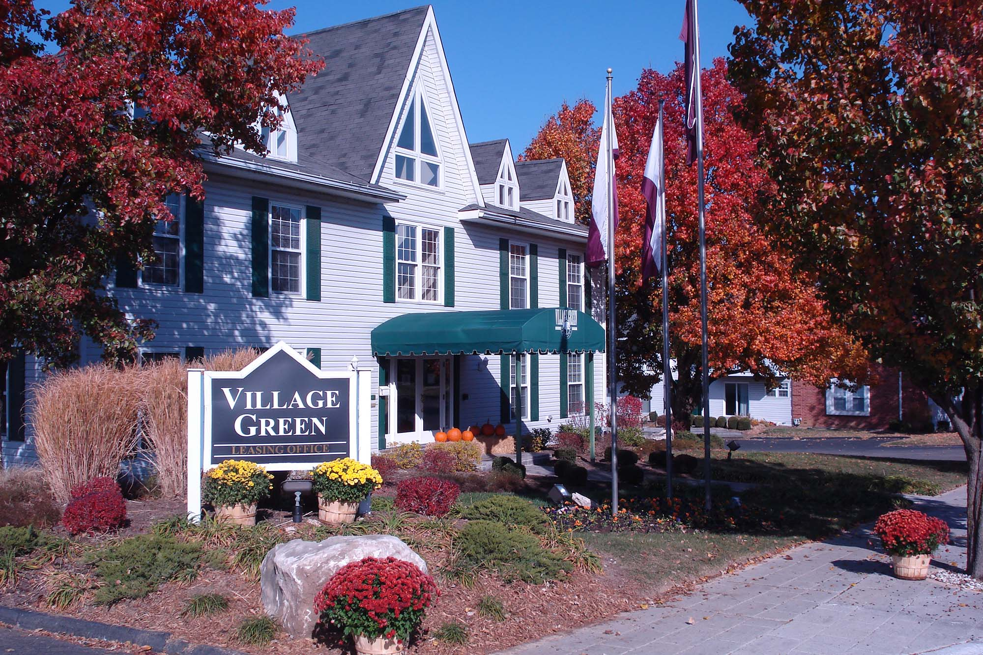 Village Green Apartments in the Chesterfield MO