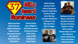 37 employees of Mills Properties were nominated for awards at Mills-A-Palooza 2018.